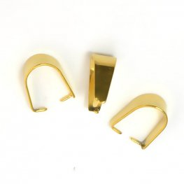 Bail - Simple - Gold Plated (over Stainless Steel)
