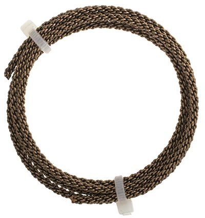 Artistic Wire - 10 gauge Braided Wire - Antiqued Brass (Pack)