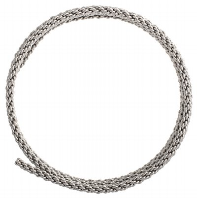 Artistic Wire - 10 gauge Braided Wire - Stainless Steel (Pack)