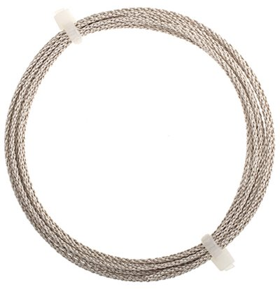 Artistic Wire - 16 gauge Braided Wire - Non-Tarnish Silver (Pack)