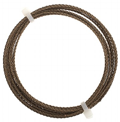 Artistic Wire - 16 gauge Braided Wire - Antiqued Brass (Pack)