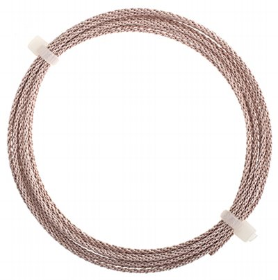 Artistic Wire - 16 gauge Braided Wire - Rose Gold (Coloured) (Pack)