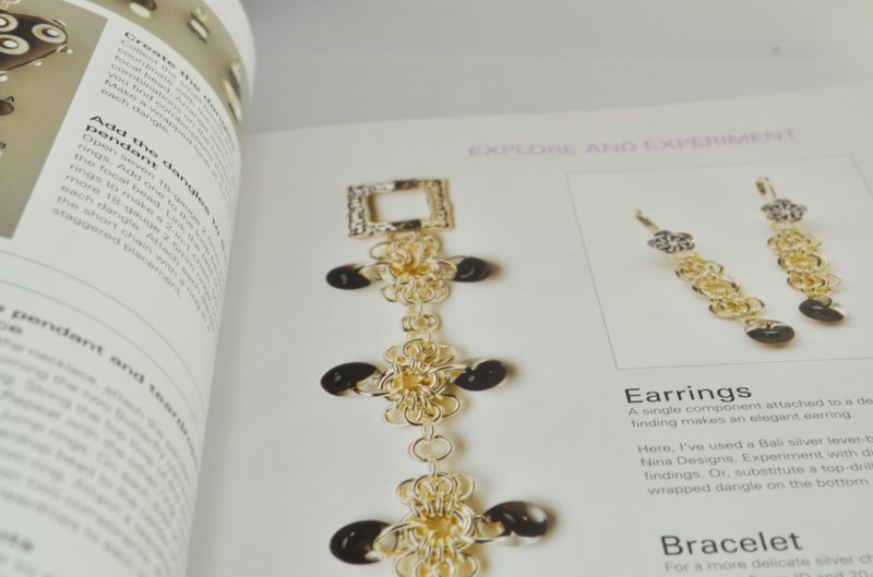 Book   modern chain mail jewelry   by marilyn gardiner [s45834 ...