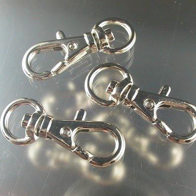 22402000  Findings - 1 inch Swivel Flip Clip - Nickel (1)