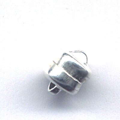 23401024-01 Findings - Magnetic Clasps - 5 mm Flat Round - Bright Silvertone (1)
