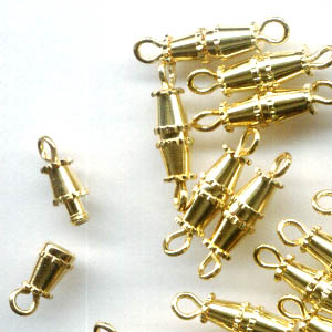 23409900 Findings - Clasps - 16 mm Barrel - Goldtone