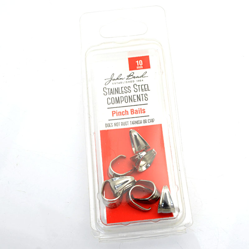 26001400-51 Findings - 10mm Pinch Bail - Stainless Steel (8)