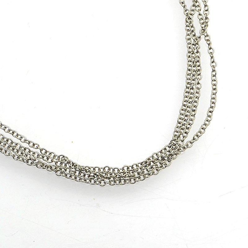 26001400-56 Chain - 1.5x1.2mm Rolo Chain - Stainless Steel (1 meter)