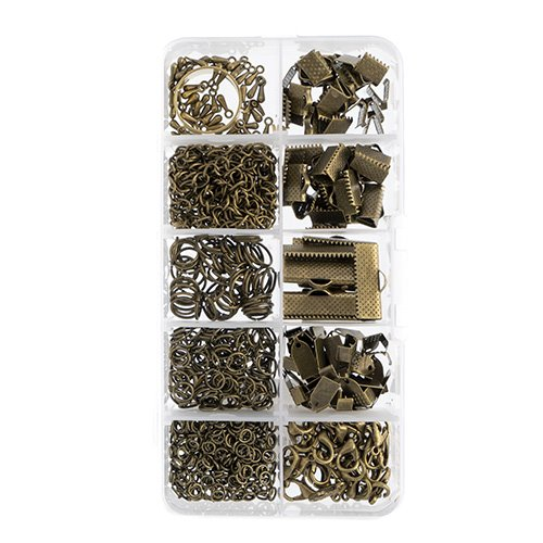 26002066 Findings -  Mixed Box I - Antiqued Brass (Pack)