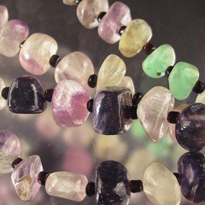 27699850-00 Stone Beads -  Chips - Fluorite (strand)