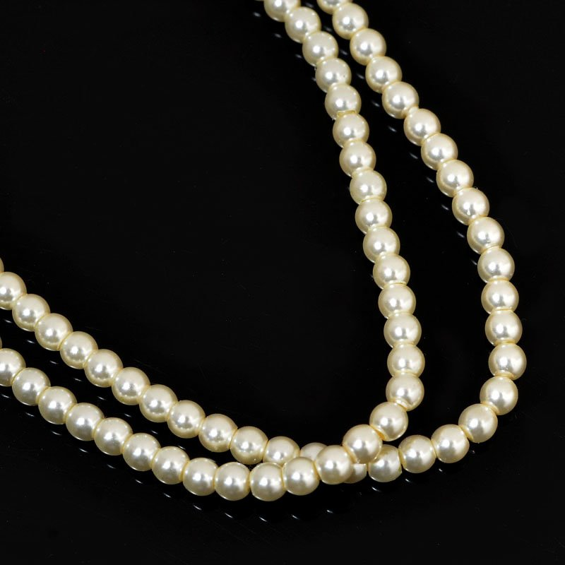 277236-002 Swarovski Pearl - 2 mm Round Pearl (5810) - Cream Pearl (200)