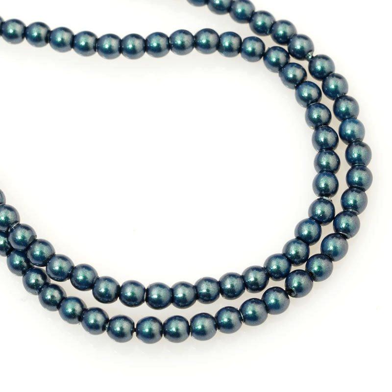 277236-007 Swarovski Pearl - 2 mm Round Pearl (5810) - Iridescent Tahitian Look Pearl (200)