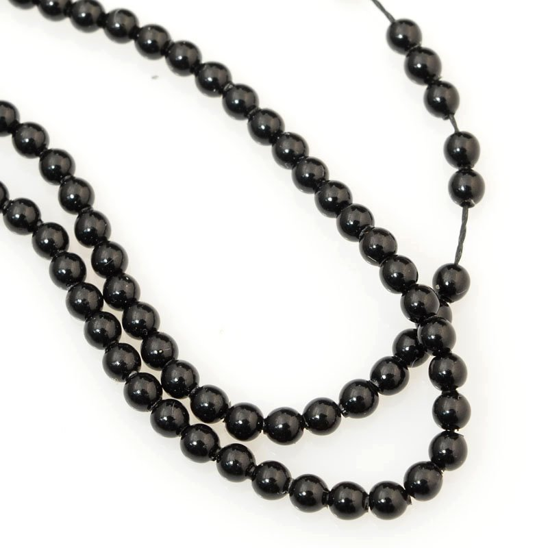 277236-009 Swarovski Pearl - 2 mm Round Pearl (5810) - Mystic Black Pearl (200)