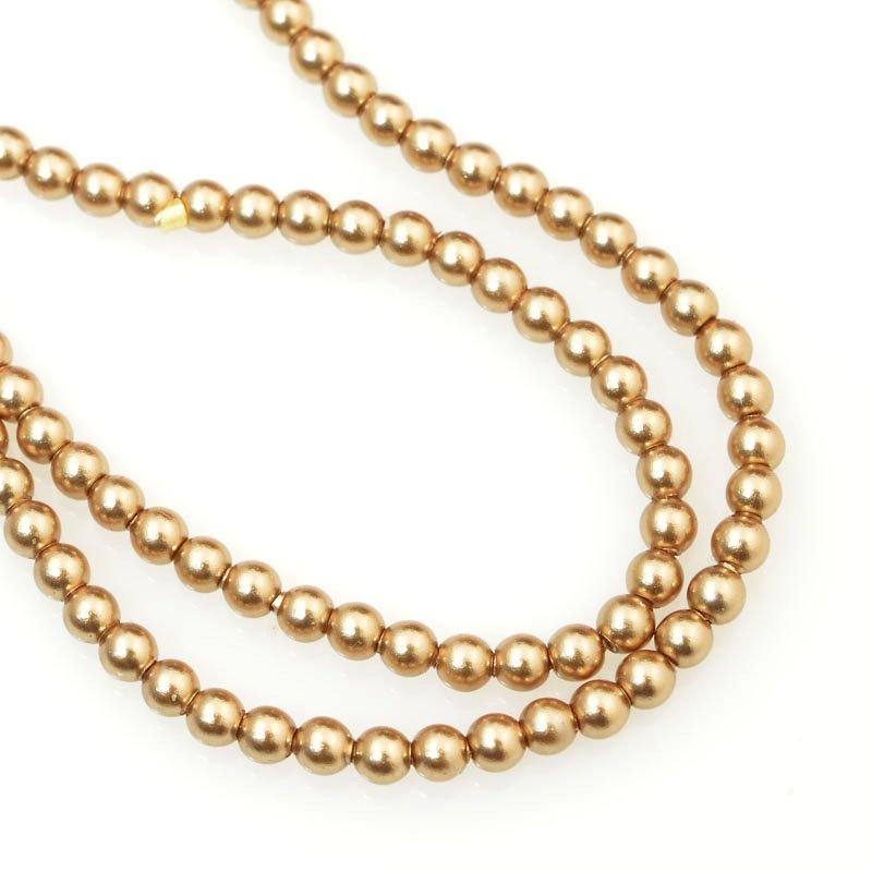 277236-010 Swarovski Pearl - 2 mm Round Pearl (5810) - Bronze Pearl (200)