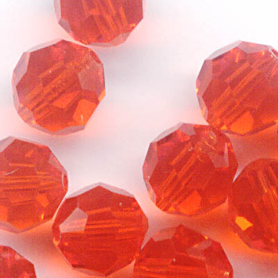 27750001711236 Swarovski Bead - 6 mm Faceted Round (5000) - Hyacinth (1)
