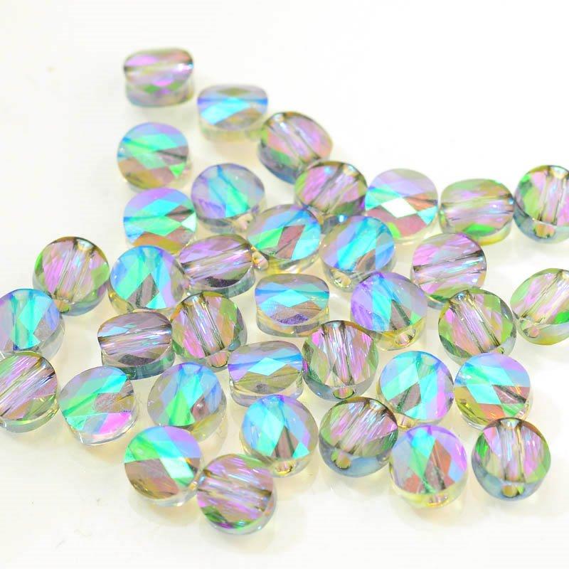 27750520046007 Swarovski Bead - 6 mm Mini-Round (5052) - Crystal Paradise Shine (1)