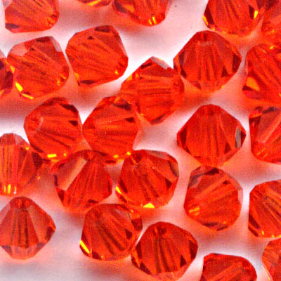 27753011307236 Swarovski Bead - 4 mm Faceted Bicone (5301) - Hyacinth (36)