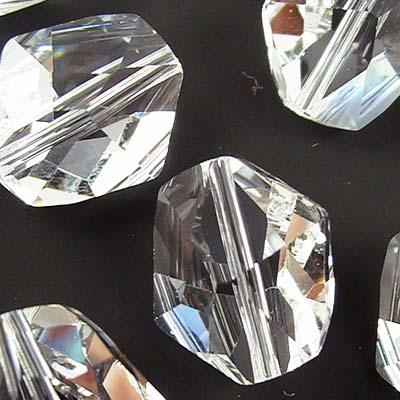 27755231001001 Crystallized - Swarovski Elements Bead - 12 mm Cosmic Bead (5523) - Crystal (1)