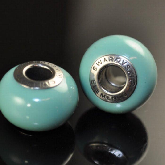 27758902000204 Swarovski Elements Bead - 14 mm Becharmed Pearl (5890) - Jade (1)