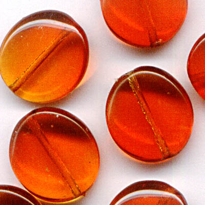 27800408-03 Glass - Large Wavy Pancake - Fire Opal (1)