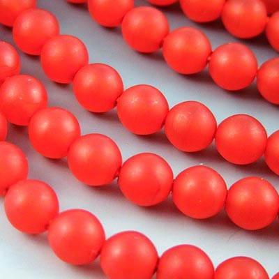 27808214-15 Glass - 8 mm Druks - Fire and Spice Matte (strand 25)