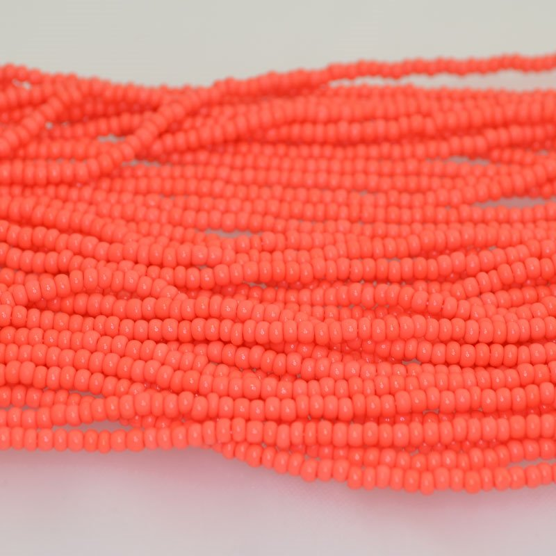 65201063 Czech Seedbeads - 8/0 Seedbead - Coral (20 grams)