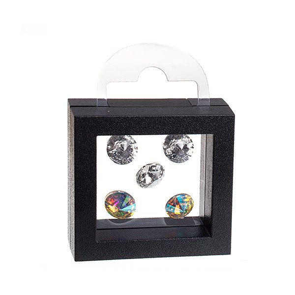 74600210-01 Display Stands - Small Floating Display Box - Black
