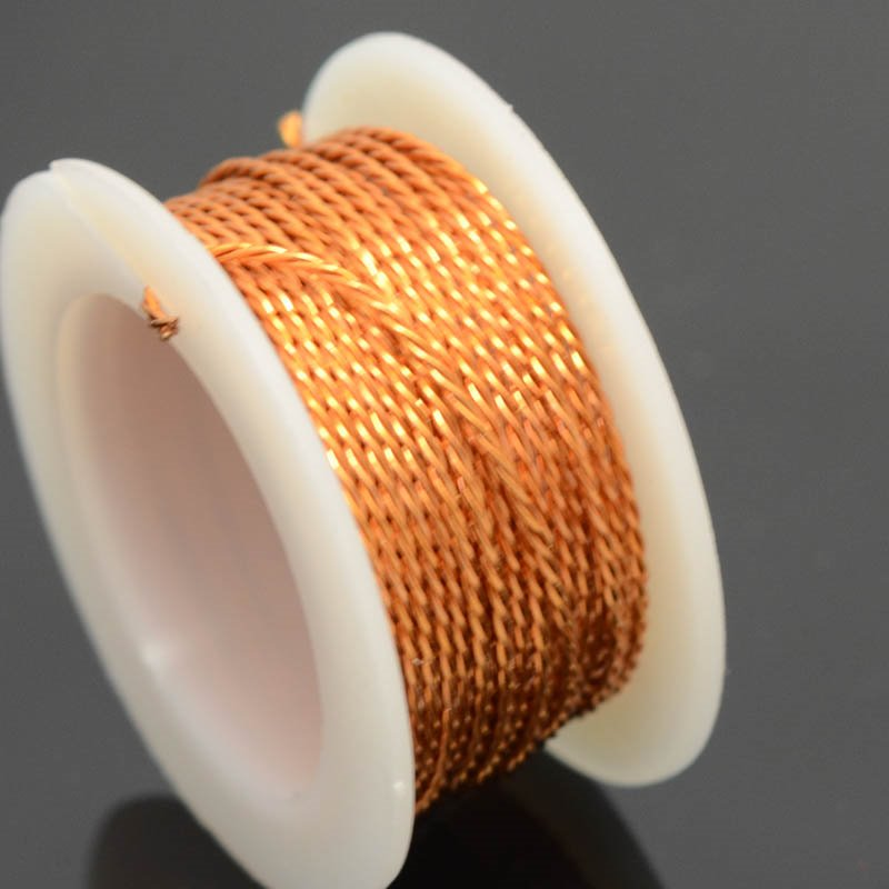 74702400-06 Artistic Wire - 20 gauge Twisted Wire - Natural Copper (3 yard spool)