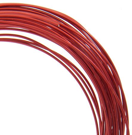 74720002-15 Aluminum Wire - 18ga Round Wire - Red (30 feet)
