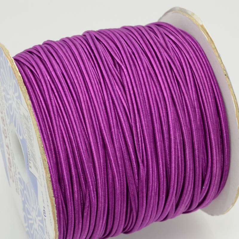 75000901-28 Braid - 3 mm Nylon Soutache - Cardinal Purple (1 meter)