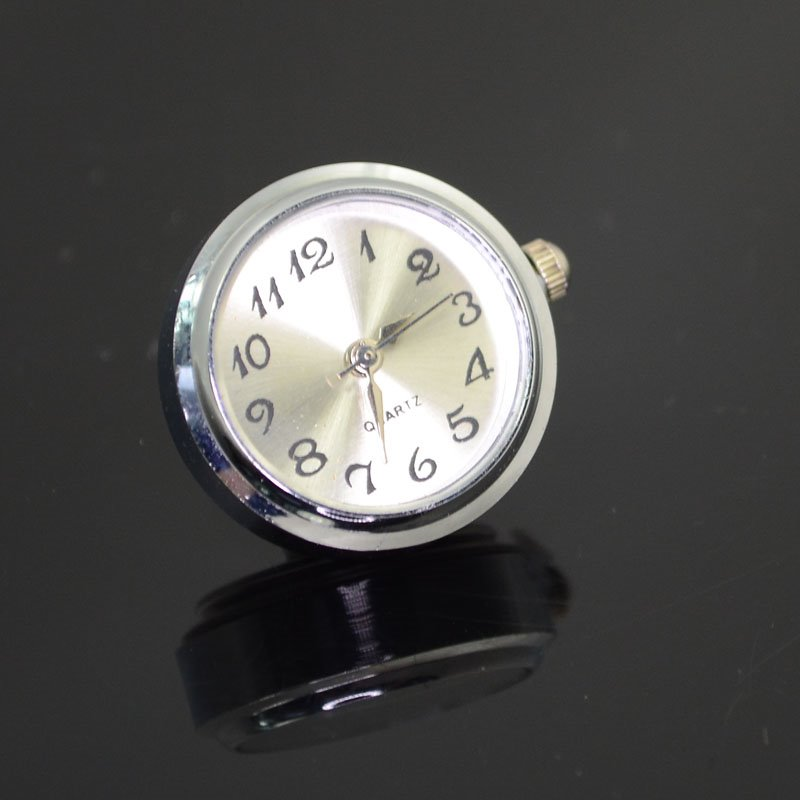 75190040-01 Klik Snap Findings - 18 mm Small Watch Face - White (1)