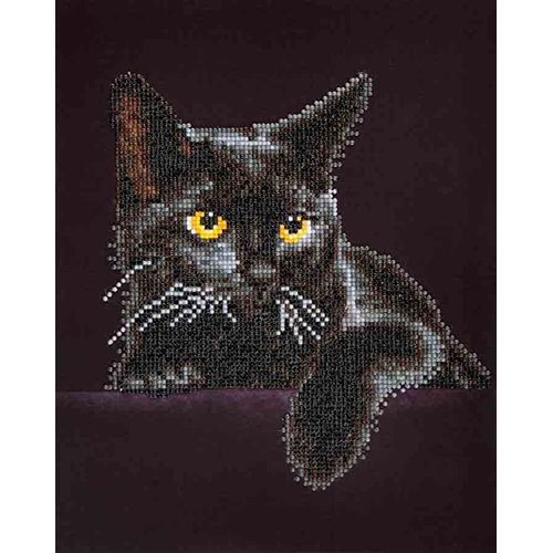 89300004-01 Diamond Dotz - 11 x 14 in Wall Art Intermediate Kit - Midnight Cat