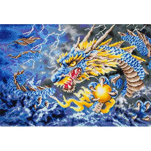 89300008-02 Diamond Dotz - 26 x 18.5 in Wall Art Advanced Kit - Mythical Dragon