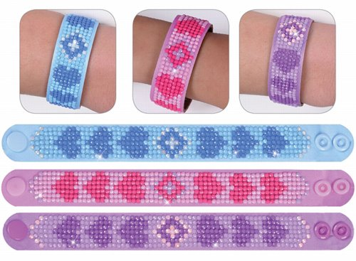 89300014-05 Diamond Dotz -  Sparkle Bracelets - Love