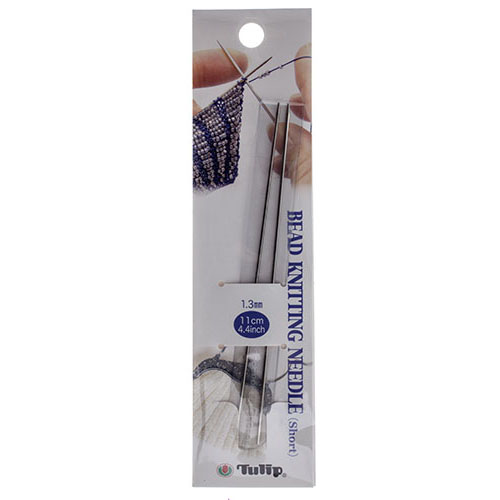 89560400 Needle - Short (4 in) Hiroshima Tulip Brand - Knitting Needles (Pair)