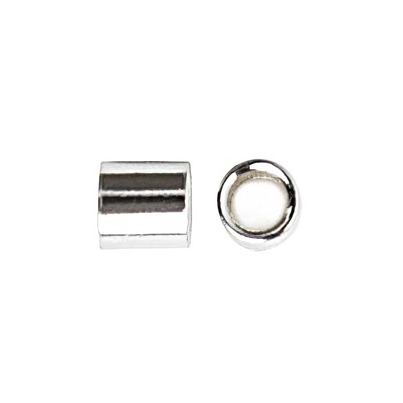 96002401 Sterling Crimps - 2 x 2 mm Crimp Tube - Sterling (50)