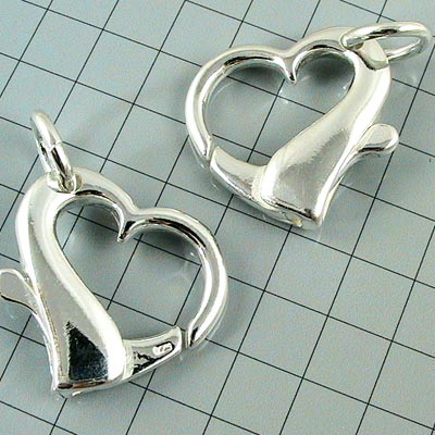 96003072 Sterling - Spring Clasp - 20 mm Honkin