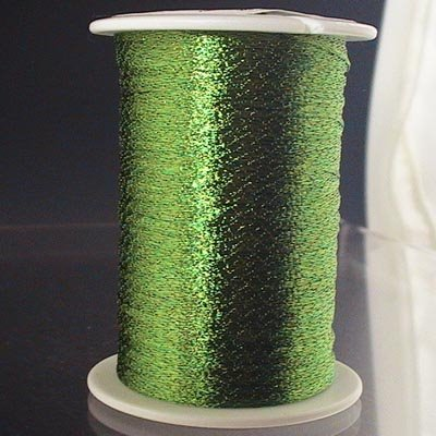 s20413 Stringing - 1 mm Wire Lace Ribbon - Grass (Spool)