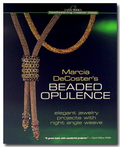 s21586 Books -  Beaded Opulence - by Marcia DeCoster