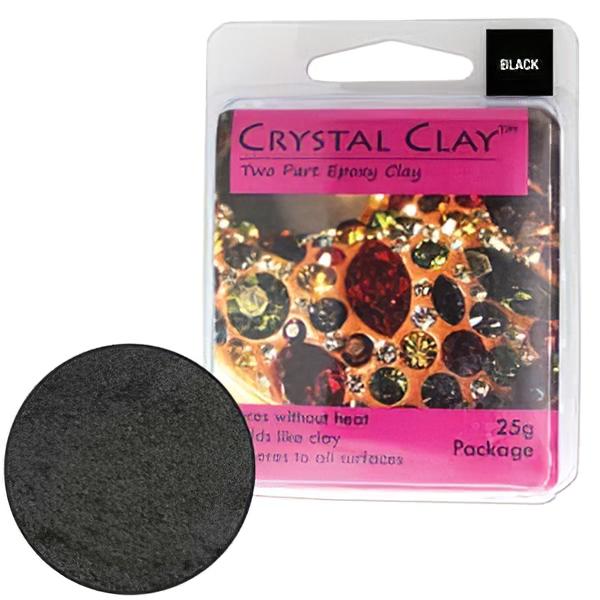 s28319 Adhesives -  Crystal Clay - Black