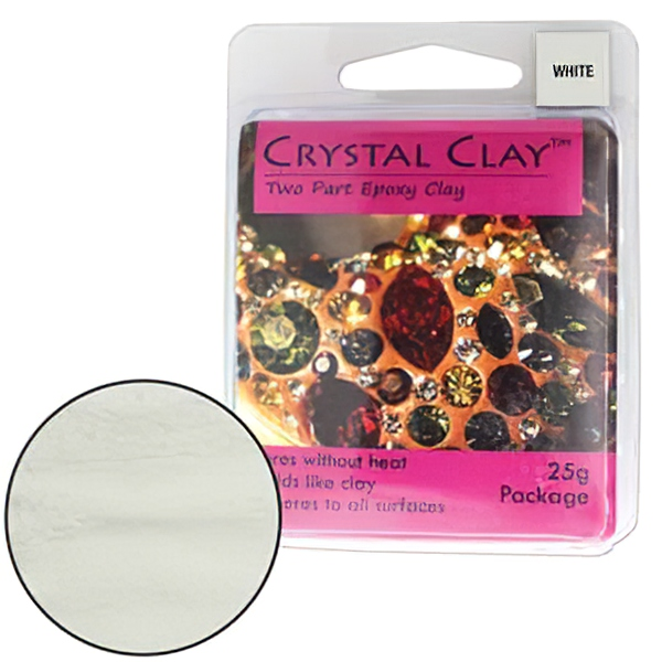 s28325 Adhesives -  Crystal Clay - White