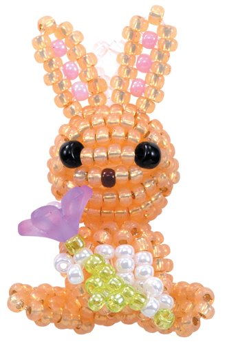 s31315 Kit -  Mascot Fan Miyuki Beading Kit - Flora Rabbit