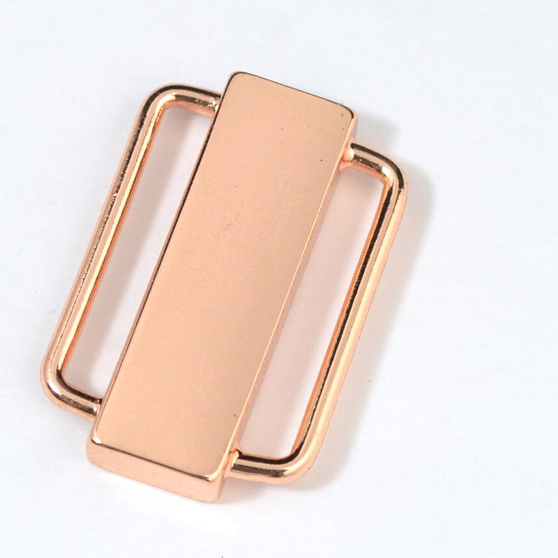 s31378 Findings - Clasp - Magnetic - 1 inch Plain Bar - Rose Gold Plated