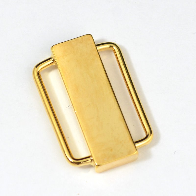 s31379 Findings - Clasp - Magnetic - 1 inch Plain Bar - 18 Karat Gold Plated