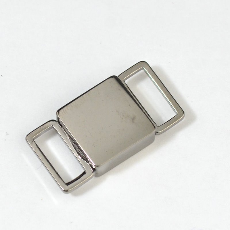 s31381 Findings - Clasp - Magnetic - Square Bar - Black Rhodium