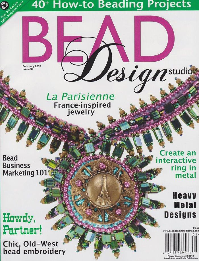 s33836 Magazine - Bead Design Studio -  2013 - February