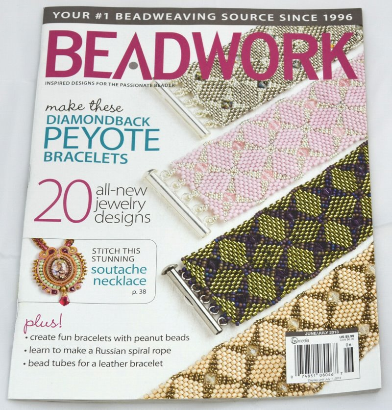 s33876 Magazine - Beadwork -  2013 - June/July