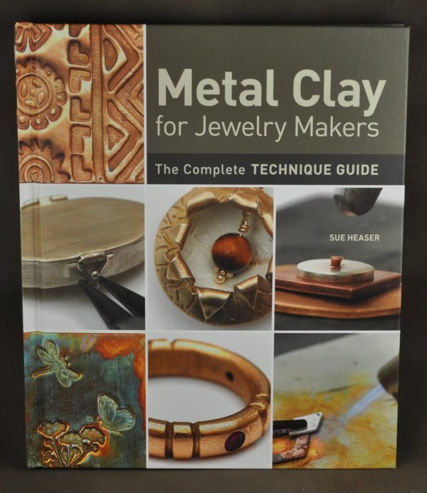 s34459 Book -  Metal Clay for Jewelry Makers - by Sue Heaser