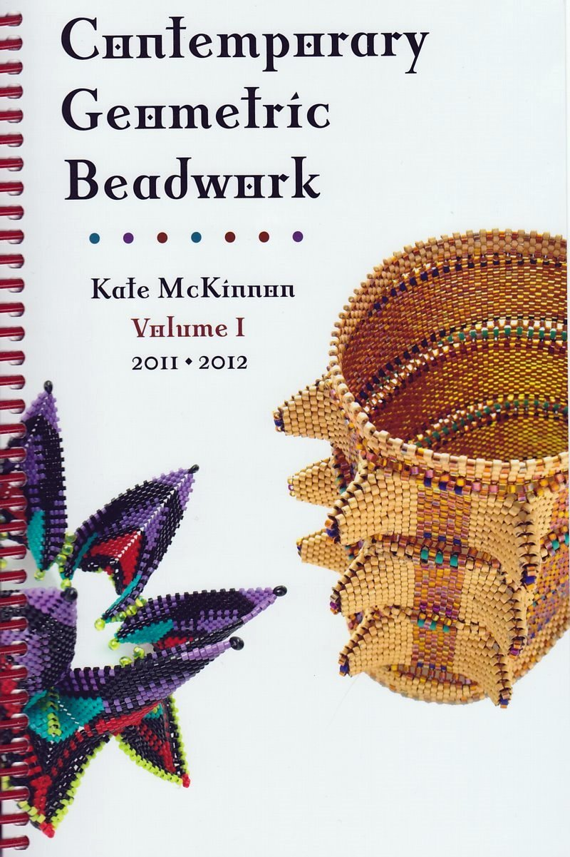 s35414 Book -  Contemporary Geometric Beadwork - by Kate McKinnon