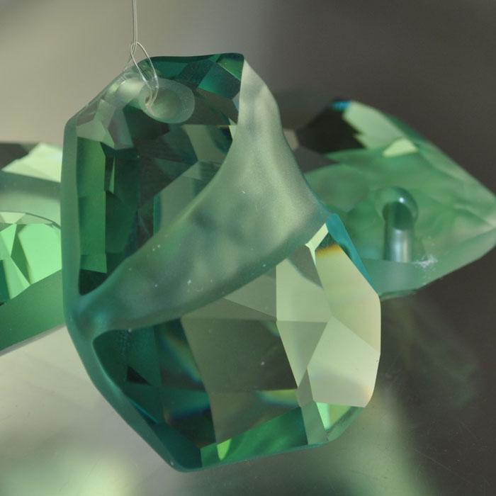 "s37310 Swarovski Elements Pendant - 48 mm Divine Rock (6191) - Erinite (1) - <font color=""#FF0000"">Special!</font> - 35% off!"